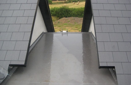 WE INSTALL FIBREGLASS FLAT ROOFING MATERIAL THROUGHOUT YORK