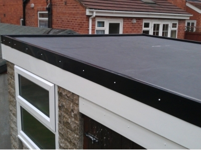 NEW INSTALLATION OF FLAT ROOFING IN YORK